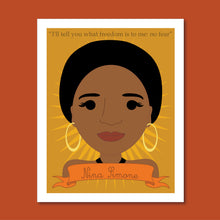Load image into Gallery viewer, Sheroes Collection: Nina Simone 8x10 Art Print