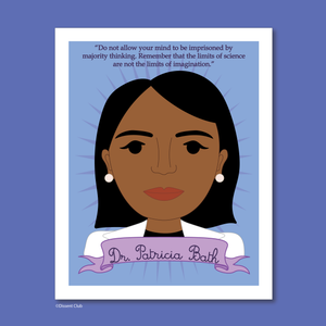 Sheroes Collection: Dr. Patricia Bath 8x10 Art Print