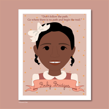 Load image into Gallery viewer, Sheroes Collection: Ruby Bridges 8x10 Art Print