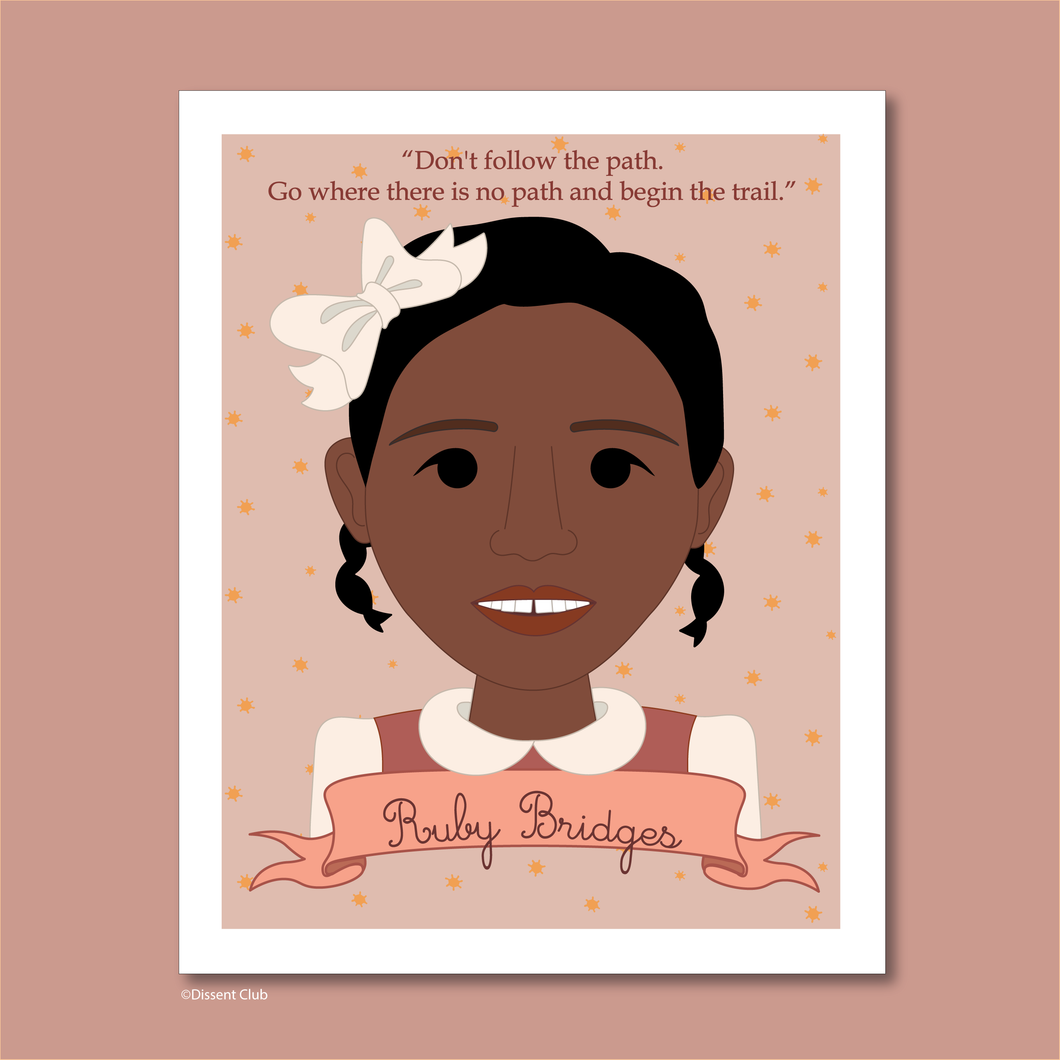 Sheroes Collection: Ruby Bridges 8x10 Art Print