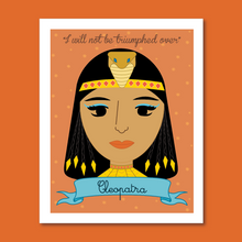 Load image into Gallery viewer, Sheroes Collection: Cleopatra 8x10 Art Print