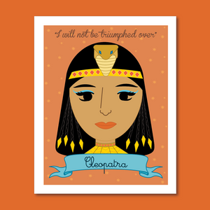 Sheroes Collection: Cleopatra 8x10 Art Print