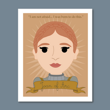 Load image into Gallery viewer, Sheroes Collection: Joan of Arc 8x10 Art Print