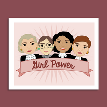 Load image into Gallery viewer, Girl Power Ladies of the Supreme Court 8x10 Art Print