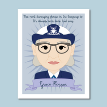 Load image into Gallery viewer, Sheroes Collection: Grace Hopper 8x10 Art Print