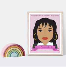 Load image into Gallery viewer, Sheroes Collection: Selena Quintanilla-Pérez 8x10 Art Print