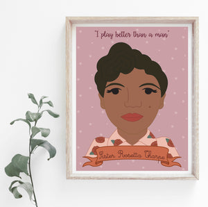 Sheroes Collection: Sister Rosetta Tharpe 8x10 Art Print