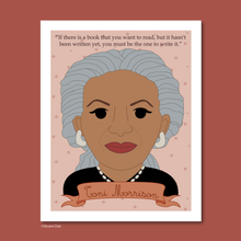 Load image into Gallery viewer, Sheroes Collection: Toni Morrison 8x10 Art Print