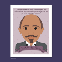 Load image into Gallery viewer, Heroes Print: W.E.B. Du Bois 8x10 Art Print