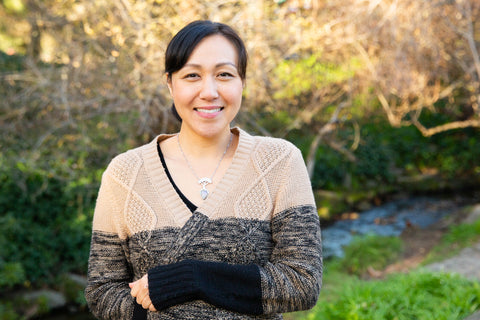 Patty Liu clinical herbalist smiling and ready for Fall season