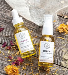 Cleanse and Nourish Facial Oil