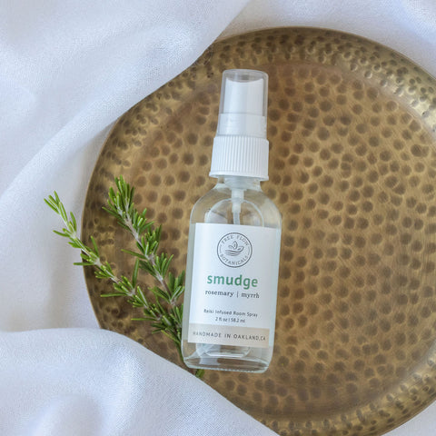 Smudge Spray maskne mask spray antibacterial disinfect clean cleanse
