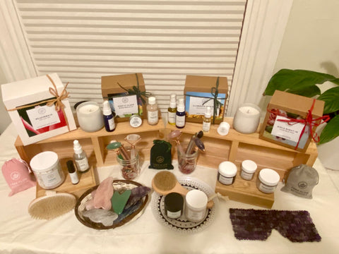 Free Flow Botanicals home mini product booth