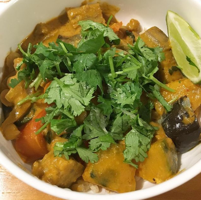 vegetable eggplant curry