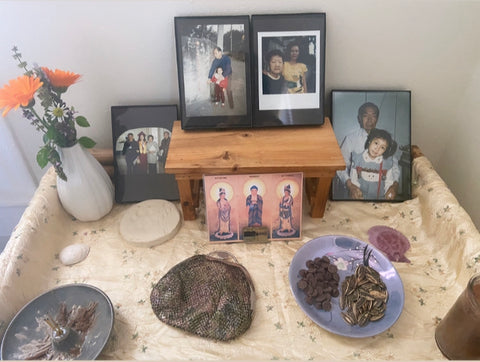 photo of altar ancestors to honor