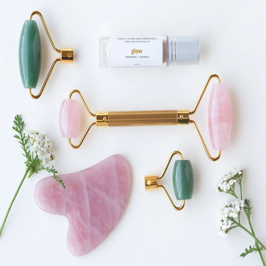 Glow Like A Queen - Facial Massage Deluxe Set