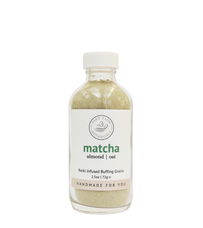 Matcha Buffing Grains