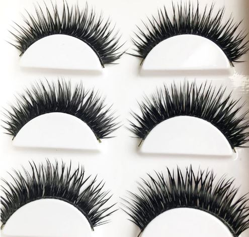 6Pairs False EyeLashes