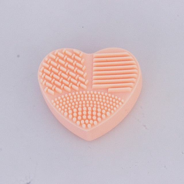 Heart Shape Make up Cleaner