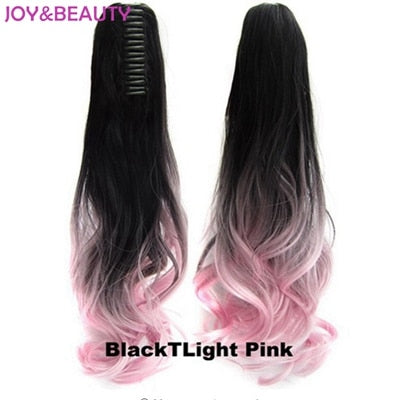 "20"" Clip On Hair Extensions - Heat Resistant Ponytail"