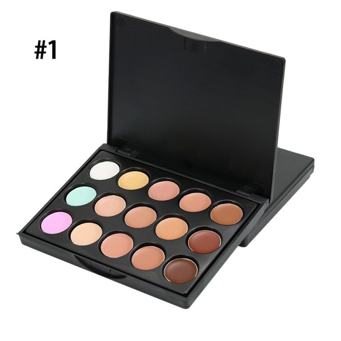 15 Colours Contour Palette