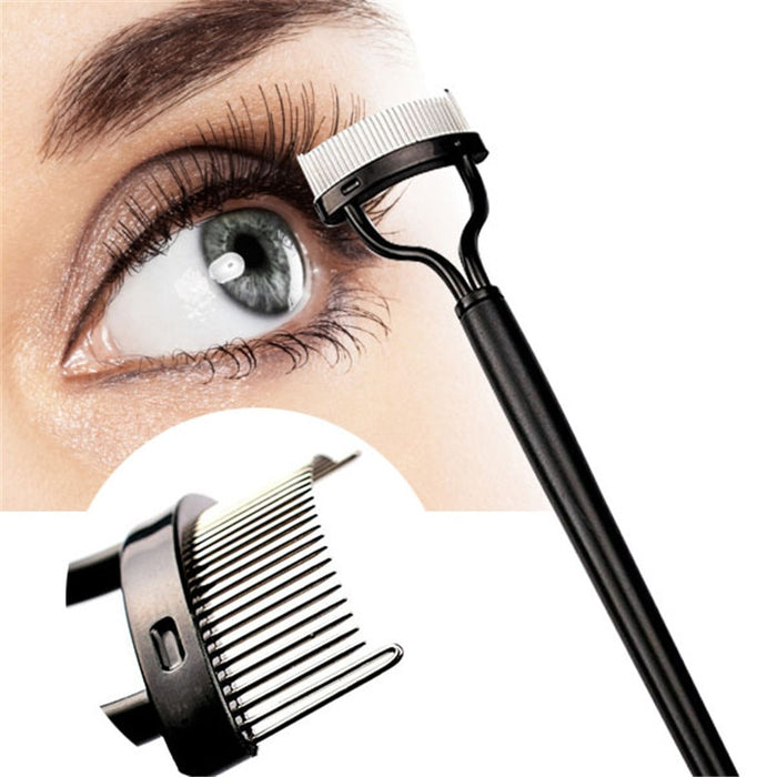 Eyelash Comb And Eyebrow Brush