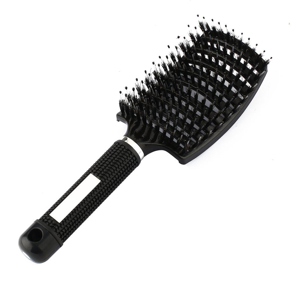 Scalp Massage Comb Bristle & Nylon Hairbrush