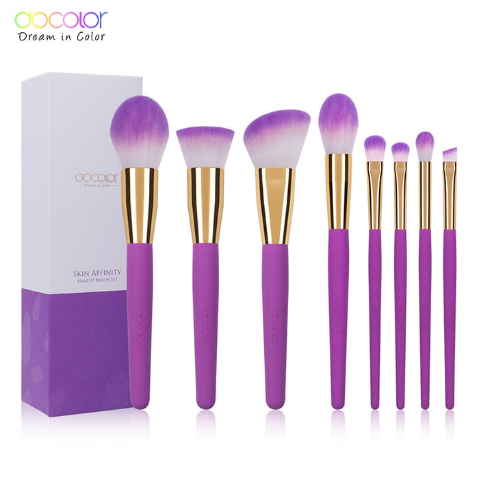 8PCS Makeup Brushes Set Large