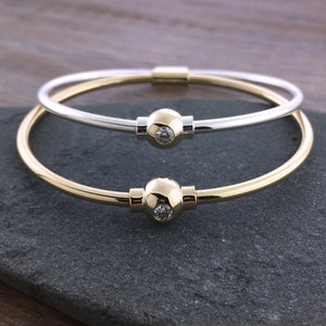 Cape Cod Diamond Ball Bracelet