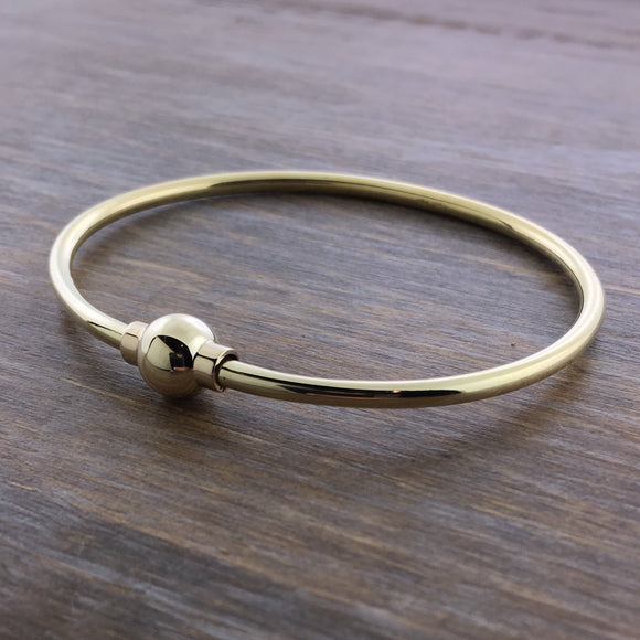Solid 14k Gold Cape Cod Bracelet