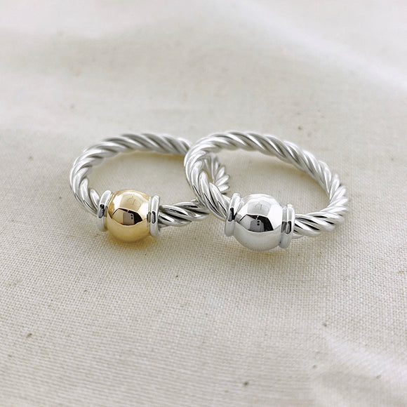 Cape Cod Twist Single Ball Ring
