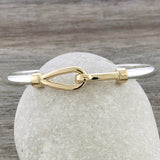Gold Simple Hook Bracelet