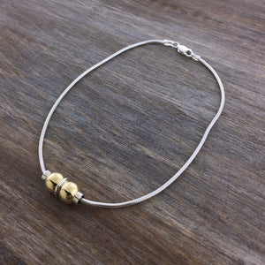 Cape Cod Double Ball Anklet