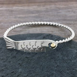 Twisted Fish Bracelet