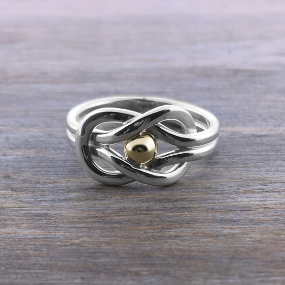 Cape Cod Sailor's Knot Ring