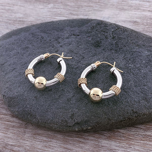 Cape Cod Hoops with Nautical Rope