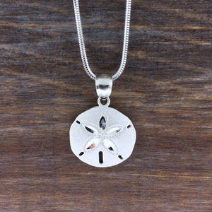 Sterling Sand Dollar Necklace