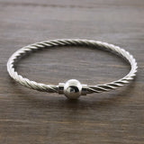 Cape Cod Twist Single Ball Bracelet