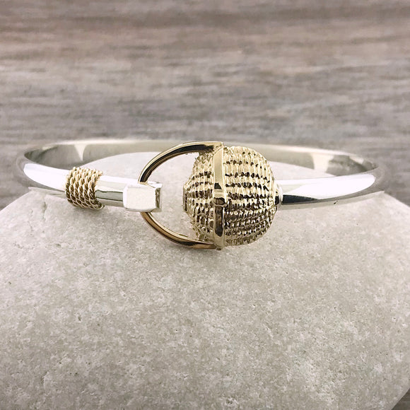 Covered Nantucket Basket Bracelet