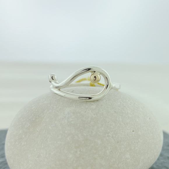 New! Whale Ring