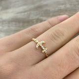 Diamond Anchor Ring