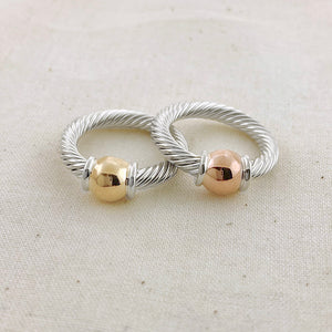 Cape Cod Fine Twist Ring