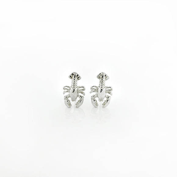 Petite Lobster Stud Earrings
