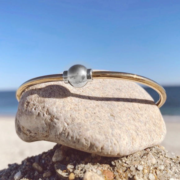 REVERSED Cape Cod Single Ball Bracelet