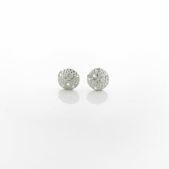 Petite Sand Dollar Stud Earrings