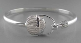 Sterling Silver Covered Nantucket Basket Bracelet