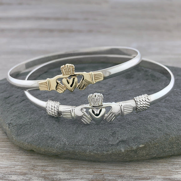 Simple Claddagh Hook Bracelet