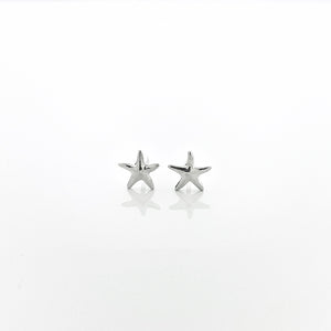 Petite Starfish Stud Earrings