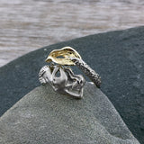 Hand Carved Mermaid Ring
