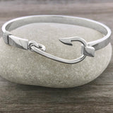 Sterling Silver Fisherman's Hook Bracelet